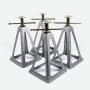 Borriqueta Aluminio (Pack 4 Unidades)