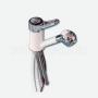 Monomando Automático Ducha Extraible Blanco Con Interruptor